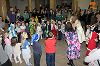 Репортаж о новогоднем утреннике для малышей на английском языке, который состоялся в г. Волгоград и в г. Волжский